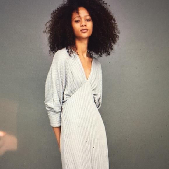 2109725e Zara Dresses | Collection Silver Metallic Dress Sz Small Nwt | Poshmark